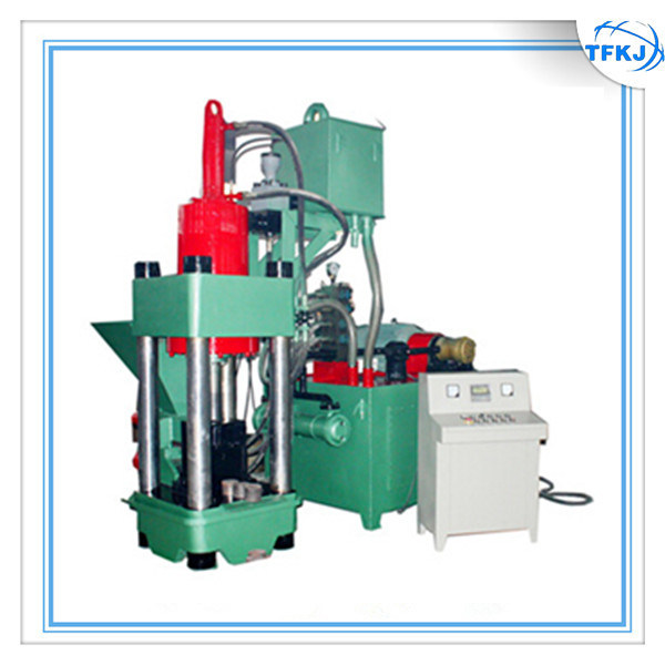 Automatic Steel Scrap Iron Turings Briquette Machine