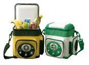 Car Mini Fridge 6 Liter, DC12V with Radio for Cooling and Warming