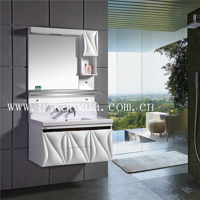 PVC Bathroom Cabinet/PVC Bathroom Vanity (KD-8015)