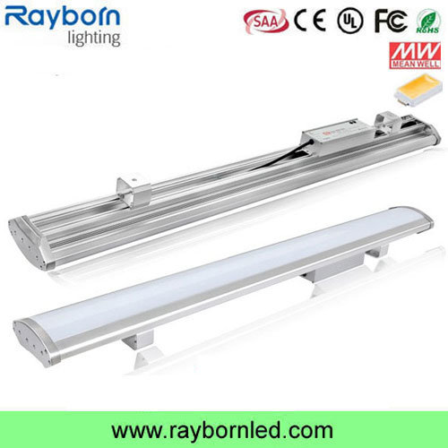 135lm/W IP65 Waterproof Frosted/Clear Cover 120W 150W 200W Linear LED High Bay Light