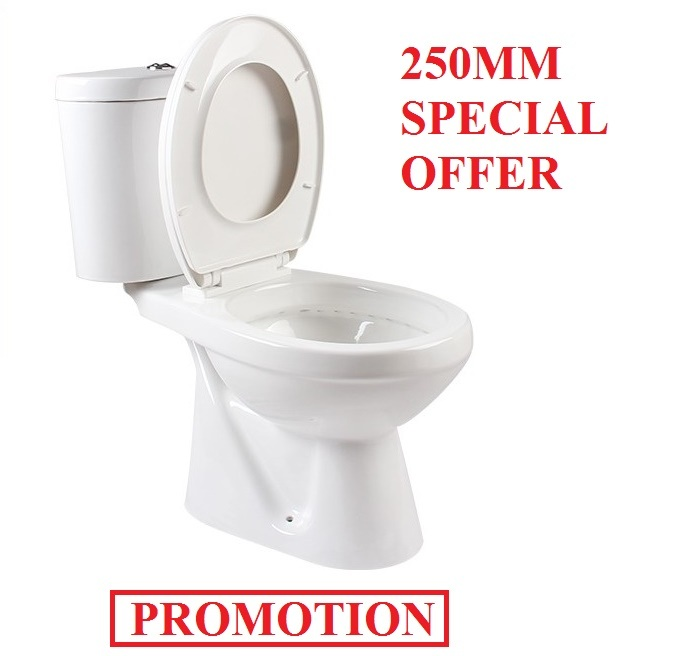 858 Water Closet Wash Down Two Piece Ceramic Toilet