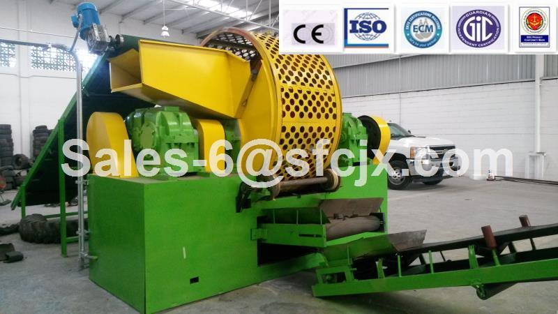 Whole Waste Tire Crusher Machine (ZPS-900)
