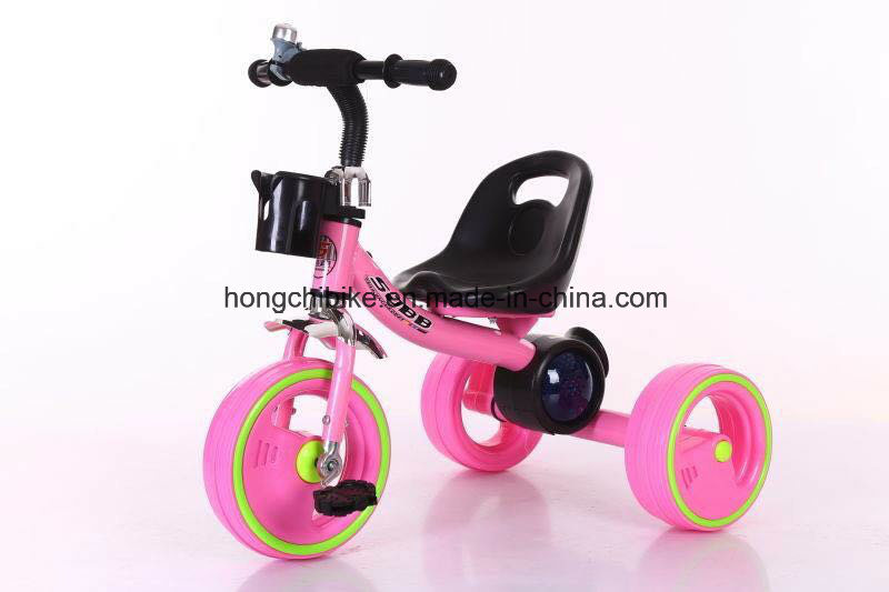 Baby Tricycle/Children Tricycle with Light Wheels and Music