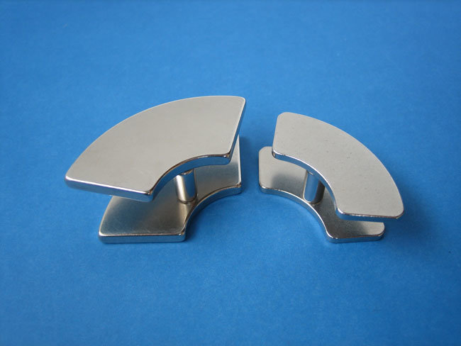 Permanent NdFeB Neodymium Motor Magnet in Arc Shape for Sale