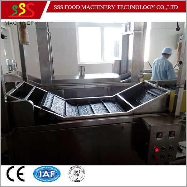 Factory Price Fryer with Oil Filter System Automatic Continuous Fryer with Ce