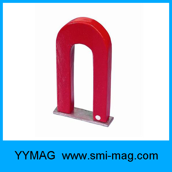 Permanent Cast AlNiCo Educational Horseshoe Magnet for Sale