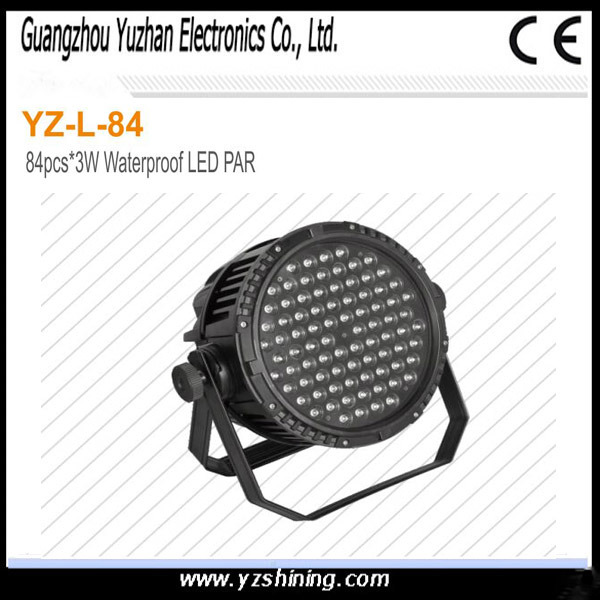 54pcsx3w RGBW Waterproof LED PAR for Stage