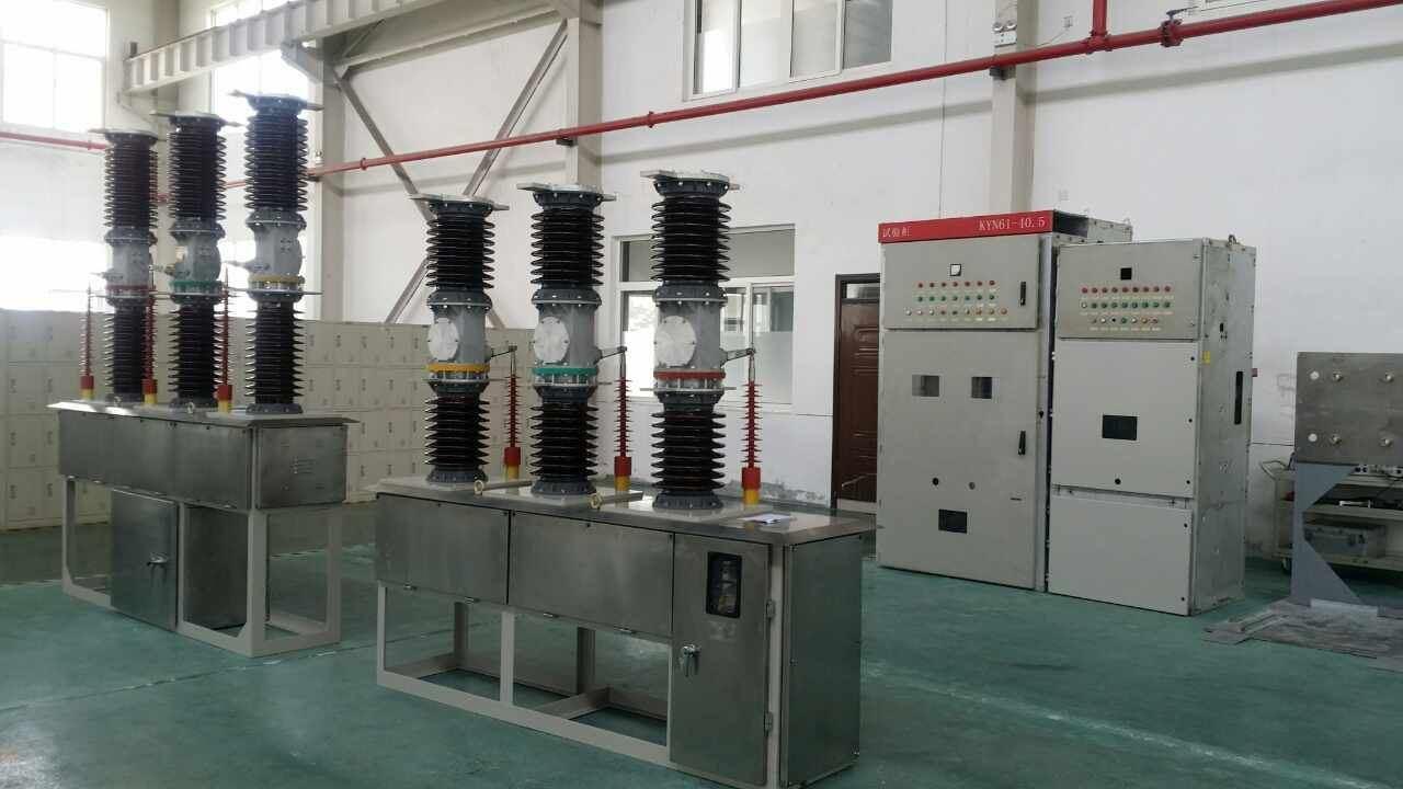 Outdoor High Voltage Vacuum Circuit Breaker with Xihari Type Test Report