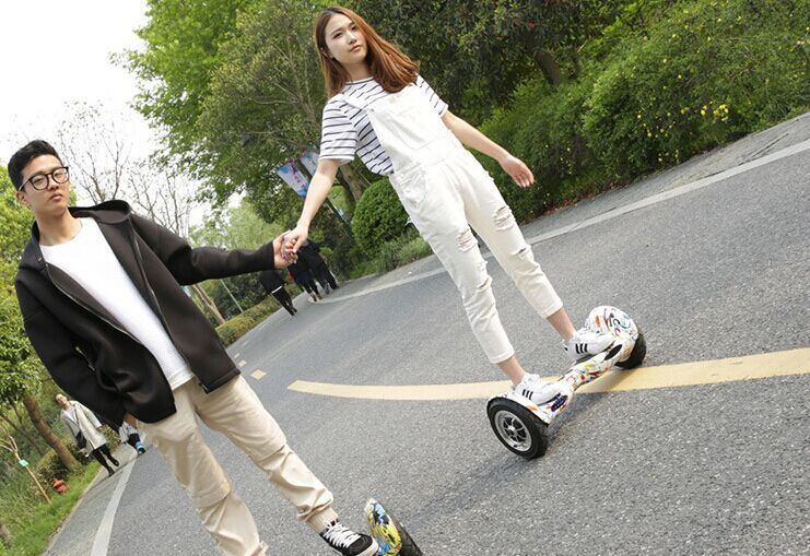 10inch Two Wheels with Bluetooth 4.4ah Smart Scooter