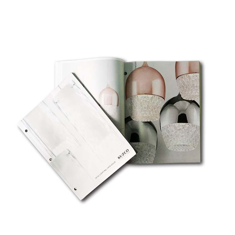 High Quality Coated Paper Custom Product Softcover Catalogue Printing