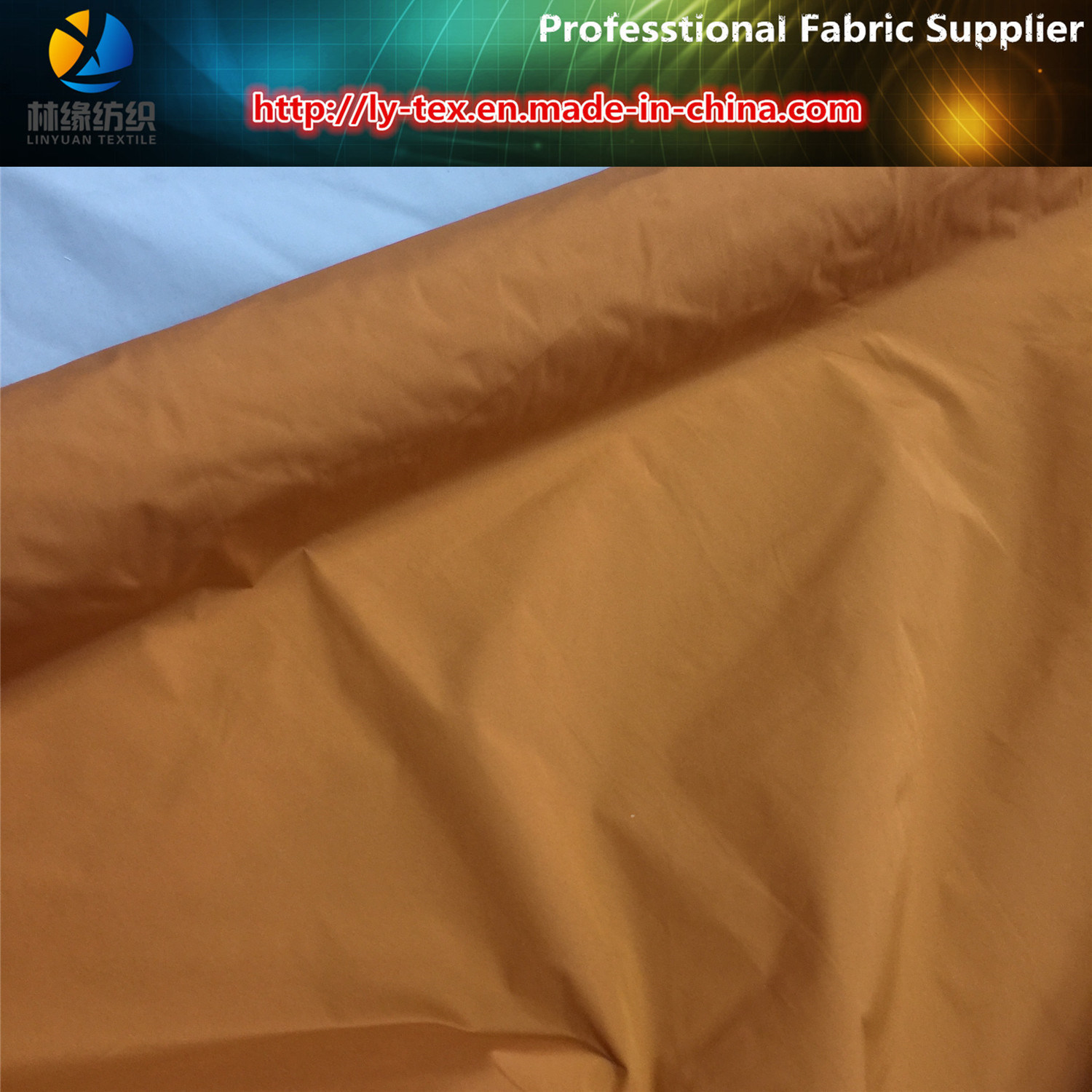 Hot! Popular Polyester Solid Yarn Dyed Fabric for Garment/Jacket (LY-YD1159)