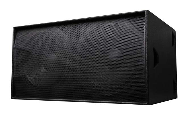 S218 Dual 18′′ 1300W PRO Subwoofer Speaker Box Woofer (TACT)