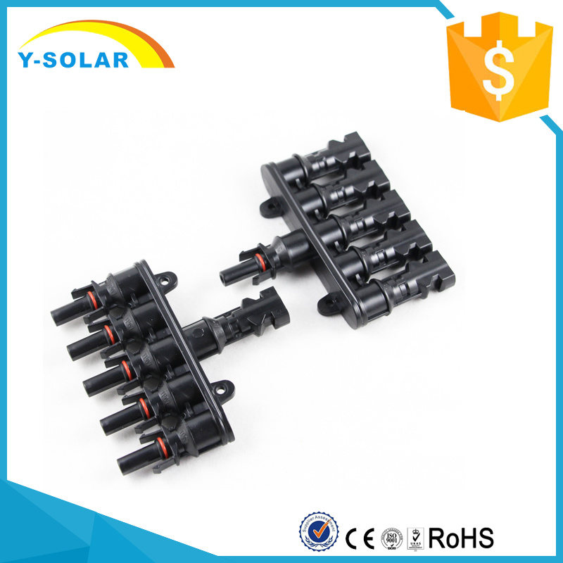 Mc4t-A3 M/FM 5 to 1 Branch 30A Solar Panel Connector Mc4t-A3