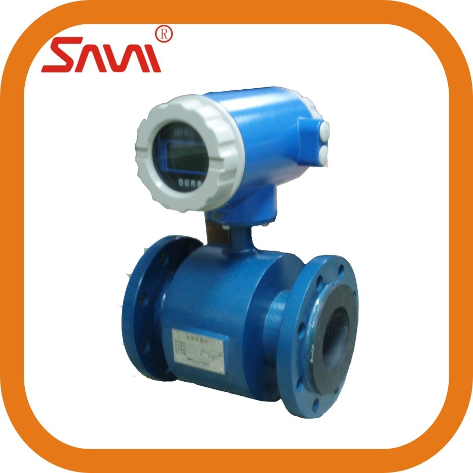 Sanitary Electromagnetic Magnetic Flow Meter for Beer and Liquid From China
