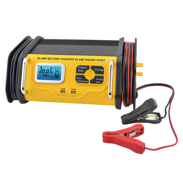 20A Rapid Charger with 50A Engine Start