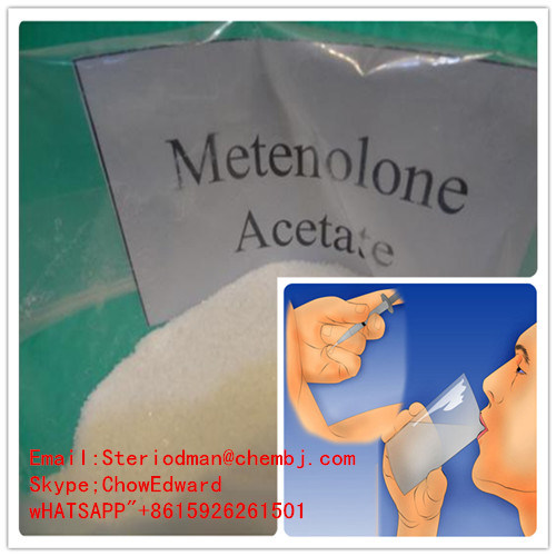Anabolic Steroid Hormone Fitness Methenolone Acetate/Primobolan for Muscle Growth