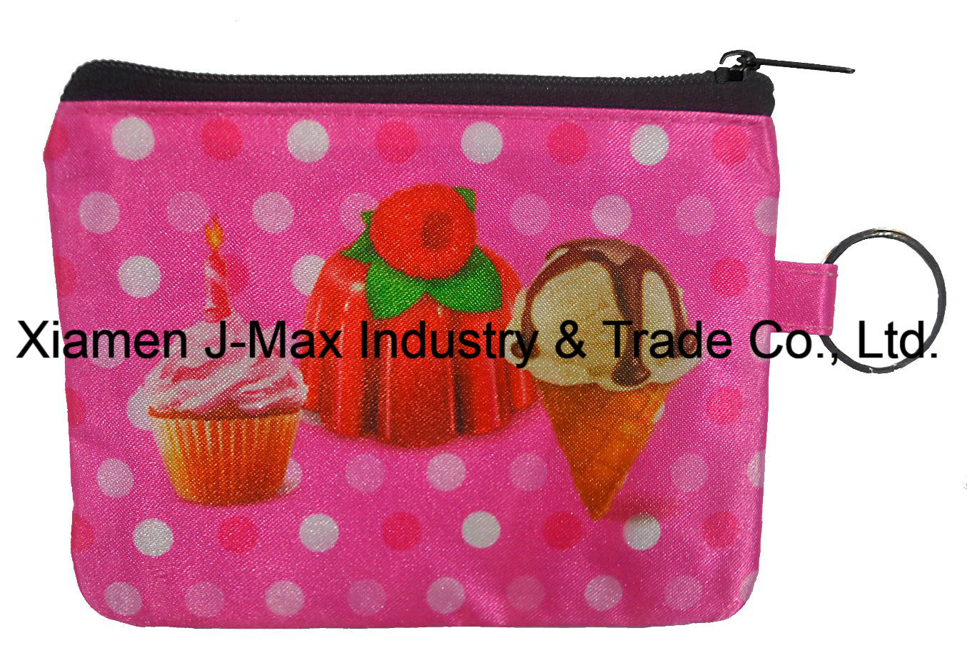Purse in RPET Material, Coin Purse, Promotion Gift Lady Coin Case, , Wallets, Zipper Purse, Recycled, Promotion, Accessories & Decoration