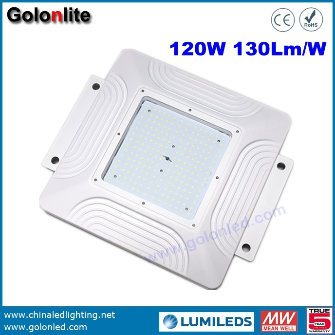 Shenzhen Factory High Quality Super Bright 130lm/W 150W 100W 120W LED Gas Station Lighting