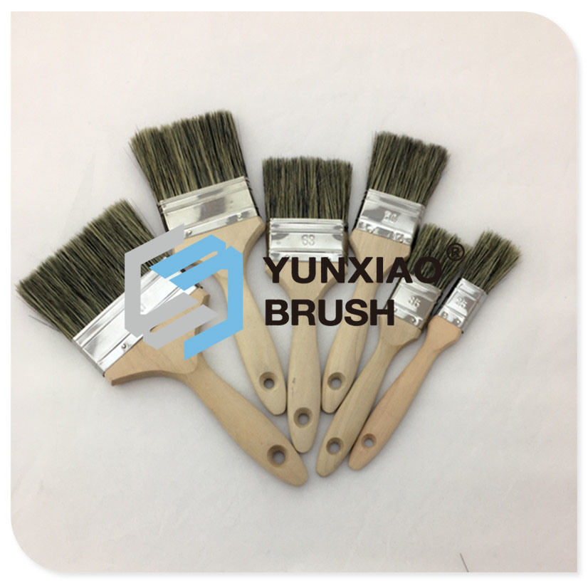 Wood Handle Paint Brush (YX-PB16)