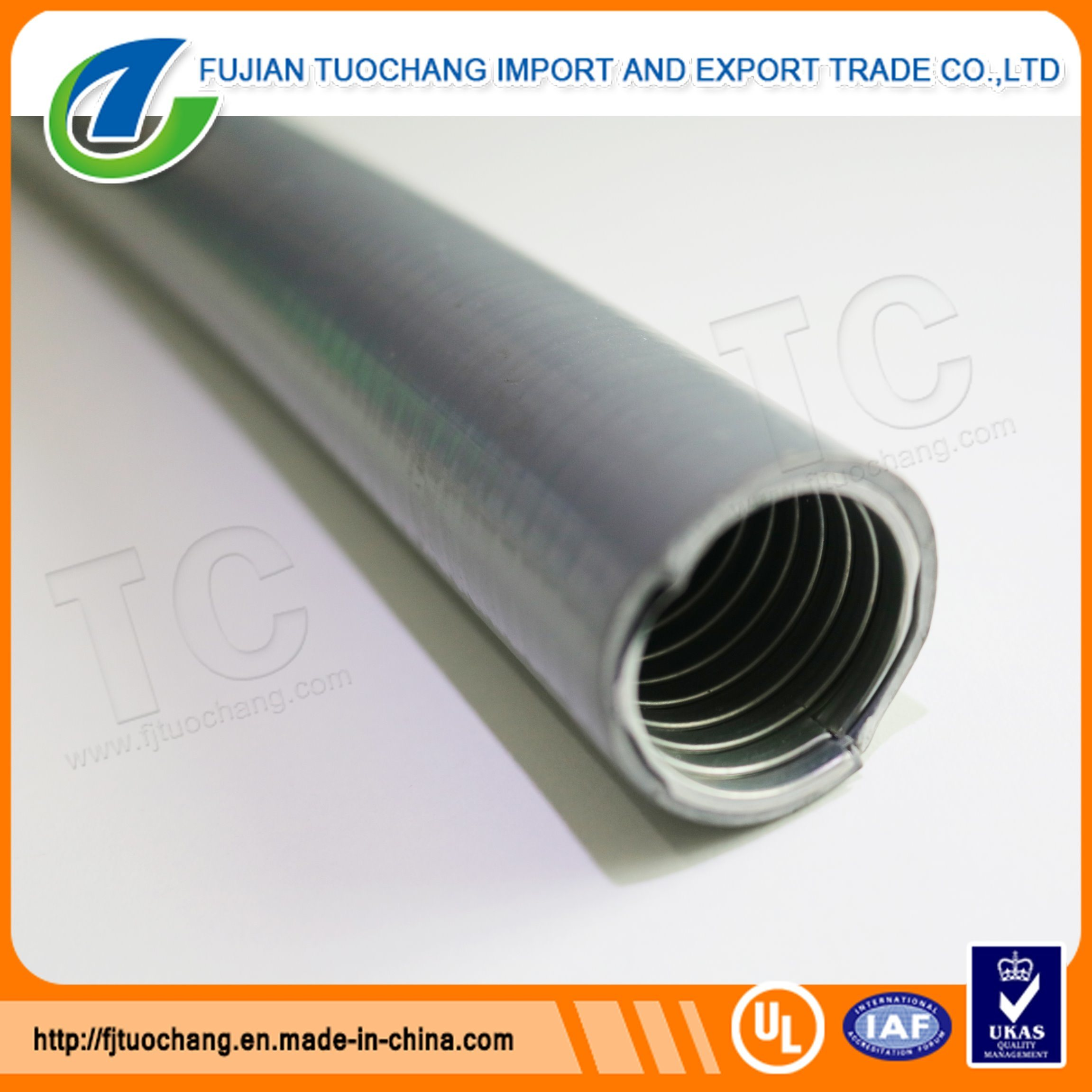 Gi PVC Coated Flexible Pipe Electrical Metal Conduit