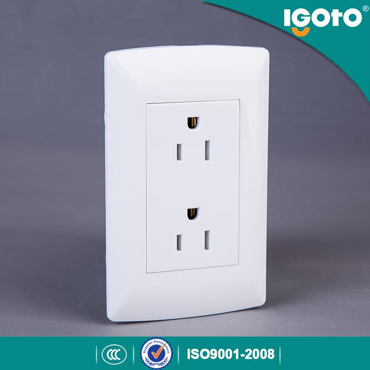 Igoto Wall Socket 6 Pins Triplex Receptacle Wall Socket