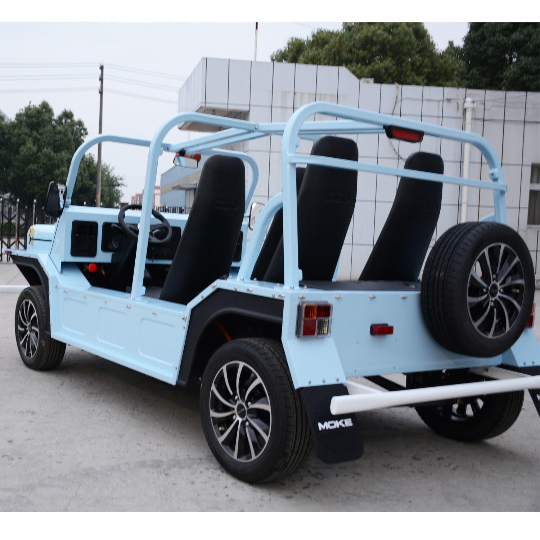 150 Km Endurance Mileage Electric Tourist Coach Sightseeing Car