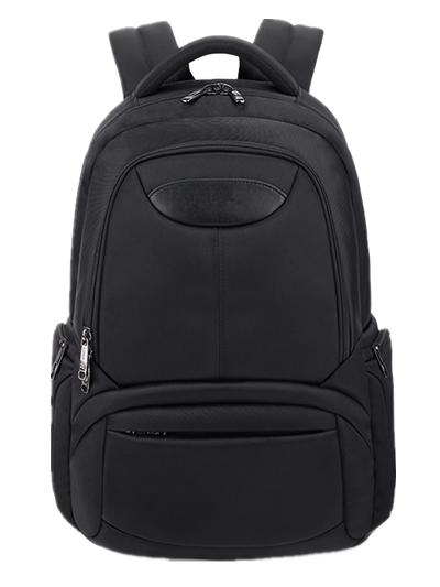 Black Computer Backpack Bag Laptop Backpack Shoulder School Backpack Bag