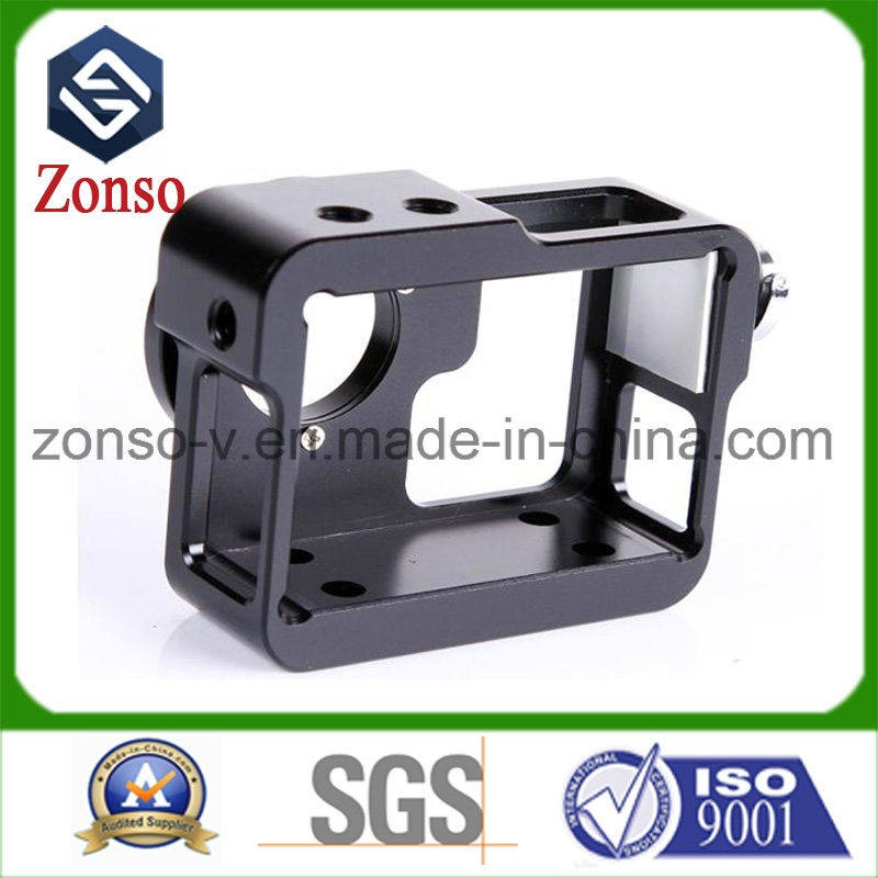 CNC Machinery Parts Aluminum Parts with Black Anodization