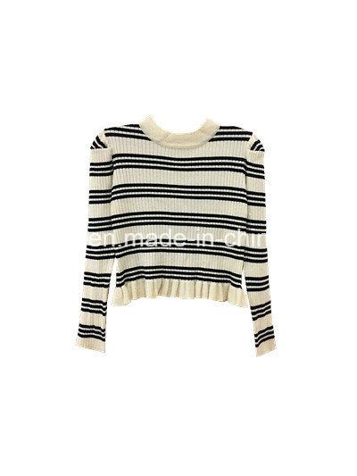 Knitting Fashion Sweater for Woman