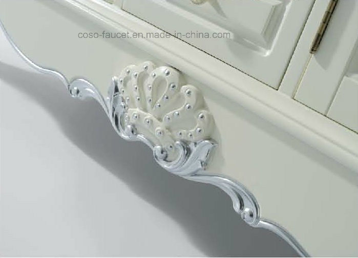 Solid Wood Bathroom Furniture Sw-63004