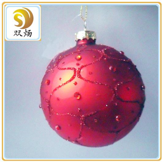 Factory Cheap Christmas Glass Craft Ball Ornaments