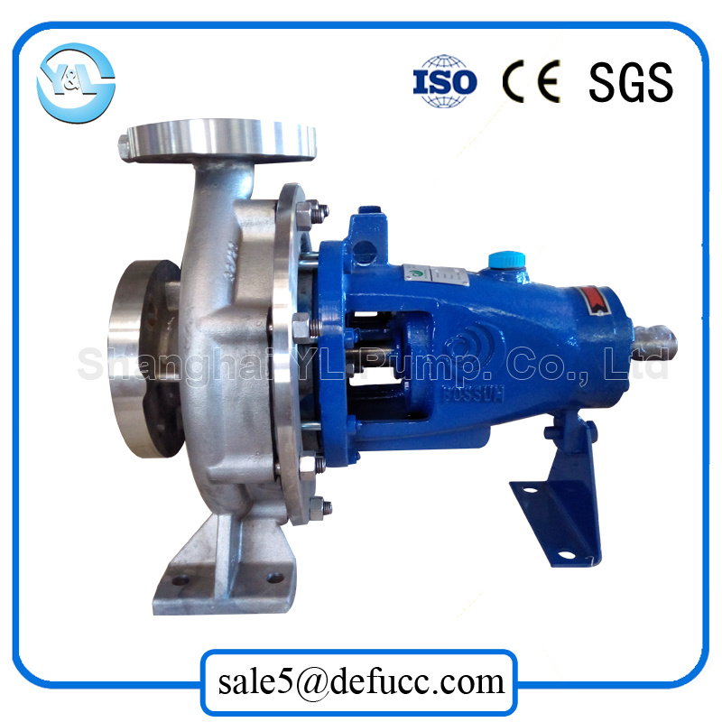Stainless Steel Mechanical Seal End Suction Centrifugal Water Pump