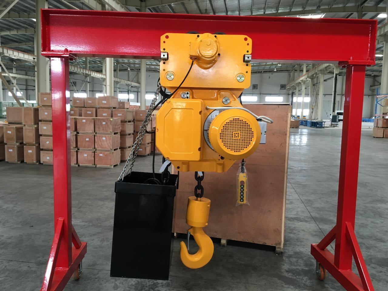 1-20t Single-Girder Overhead Gantry Crane