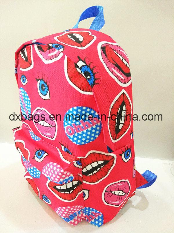 600d Polyester Teenageer School Backpack