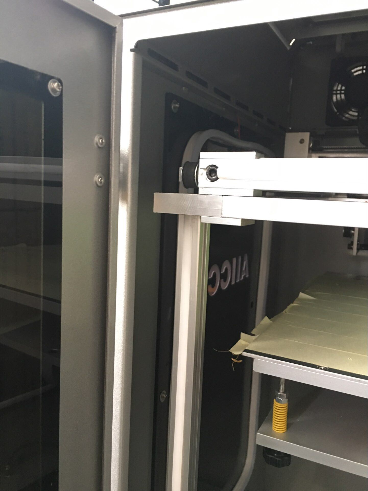 Double Color 400X400X500mm Large Size Linear Rail Industrial 3D Printer