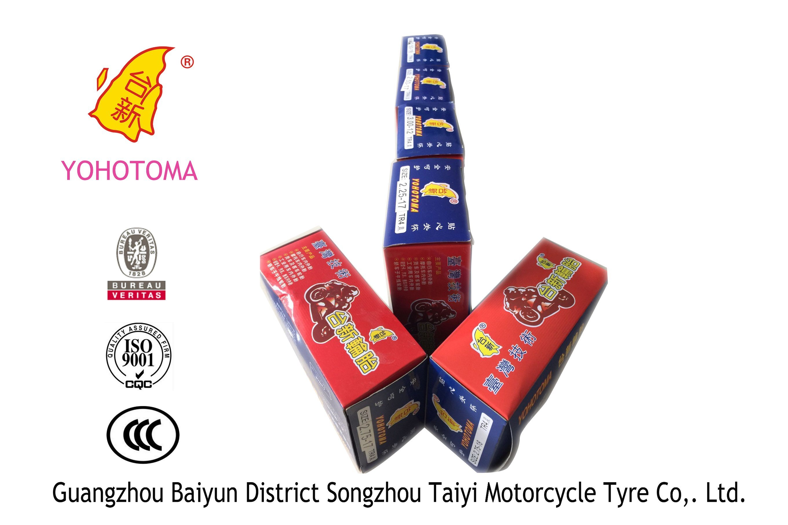 Motorcycle Inner Tube / Tire/ Tyre 5.00-12