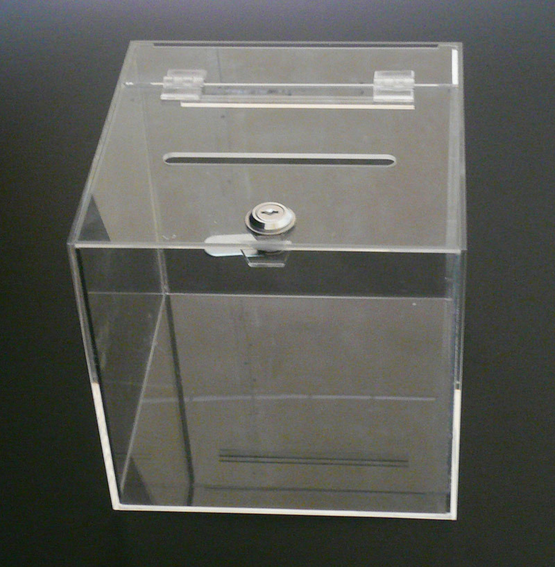 Customize Clear Acrylic Supermarket and Store Display Box