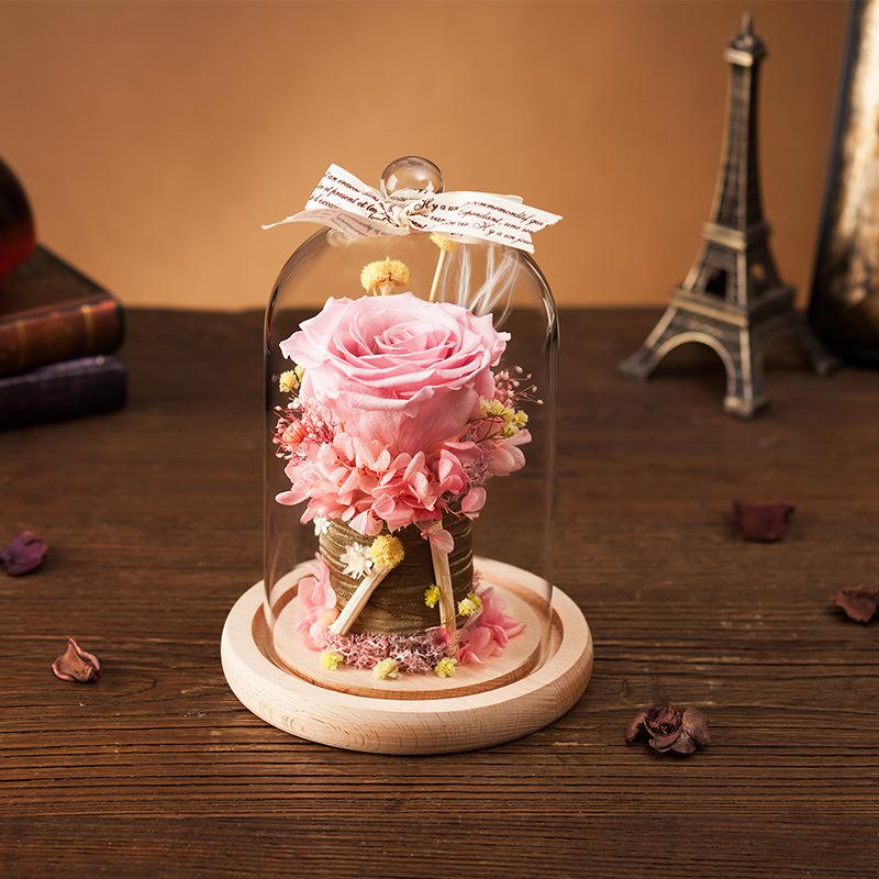 Handmade Natural Flower for Valentine′s Day Birthday Gift