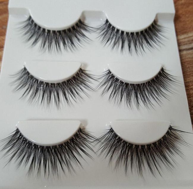 2016 New Fashion 3D Hot Style False Eyelashes Super Long Lash Hair Eyelashes