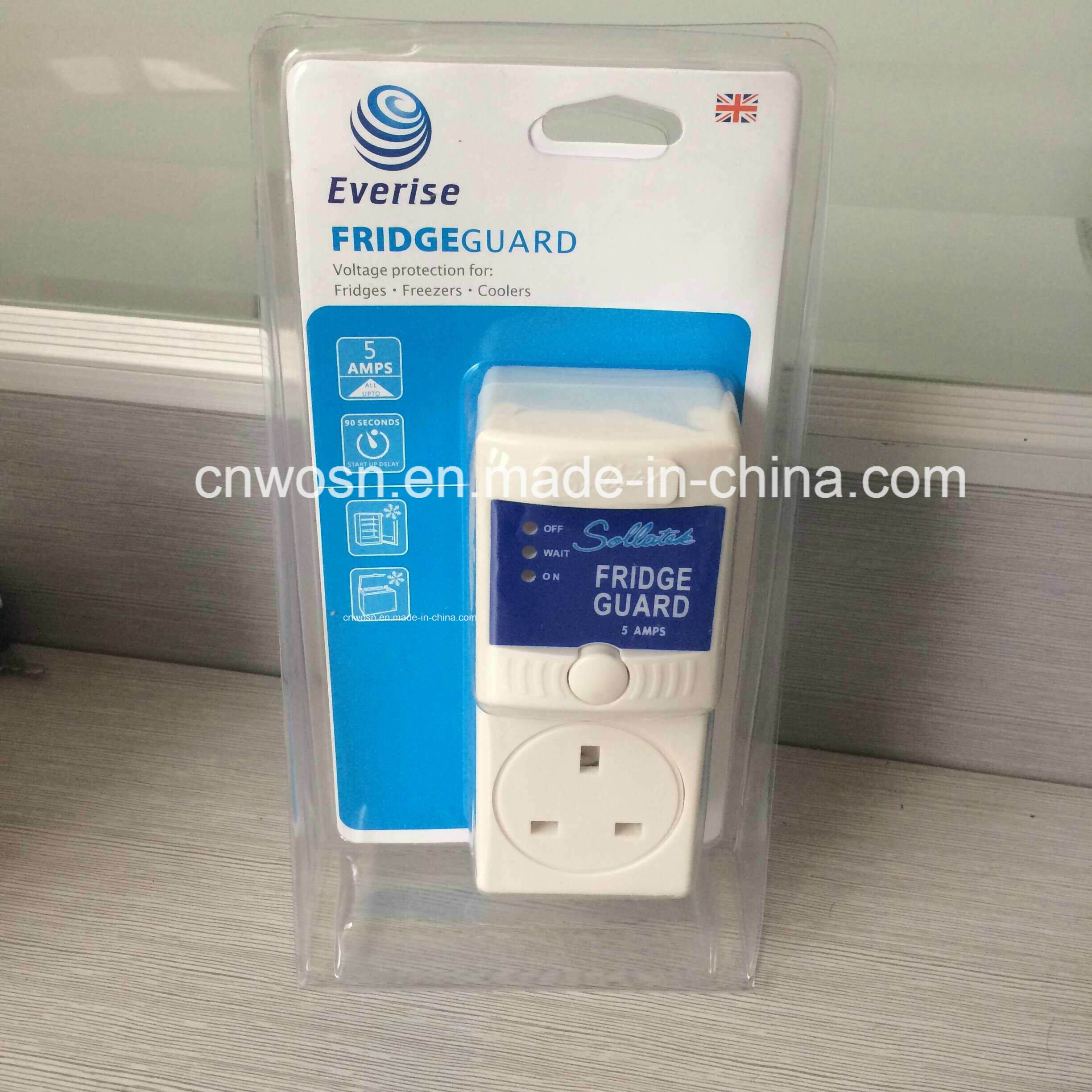 Fridge Guard 5A 7A 13A AVS Refrigerator Voltage Protector