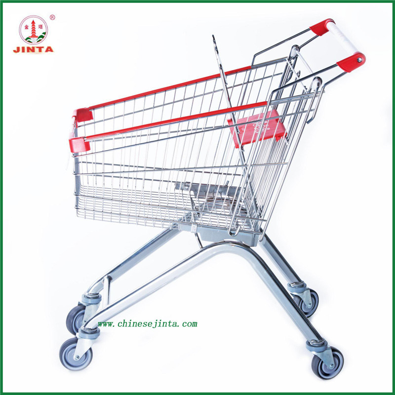 Chain Retail Store Folding Shopping Trolley (JT-EC16)