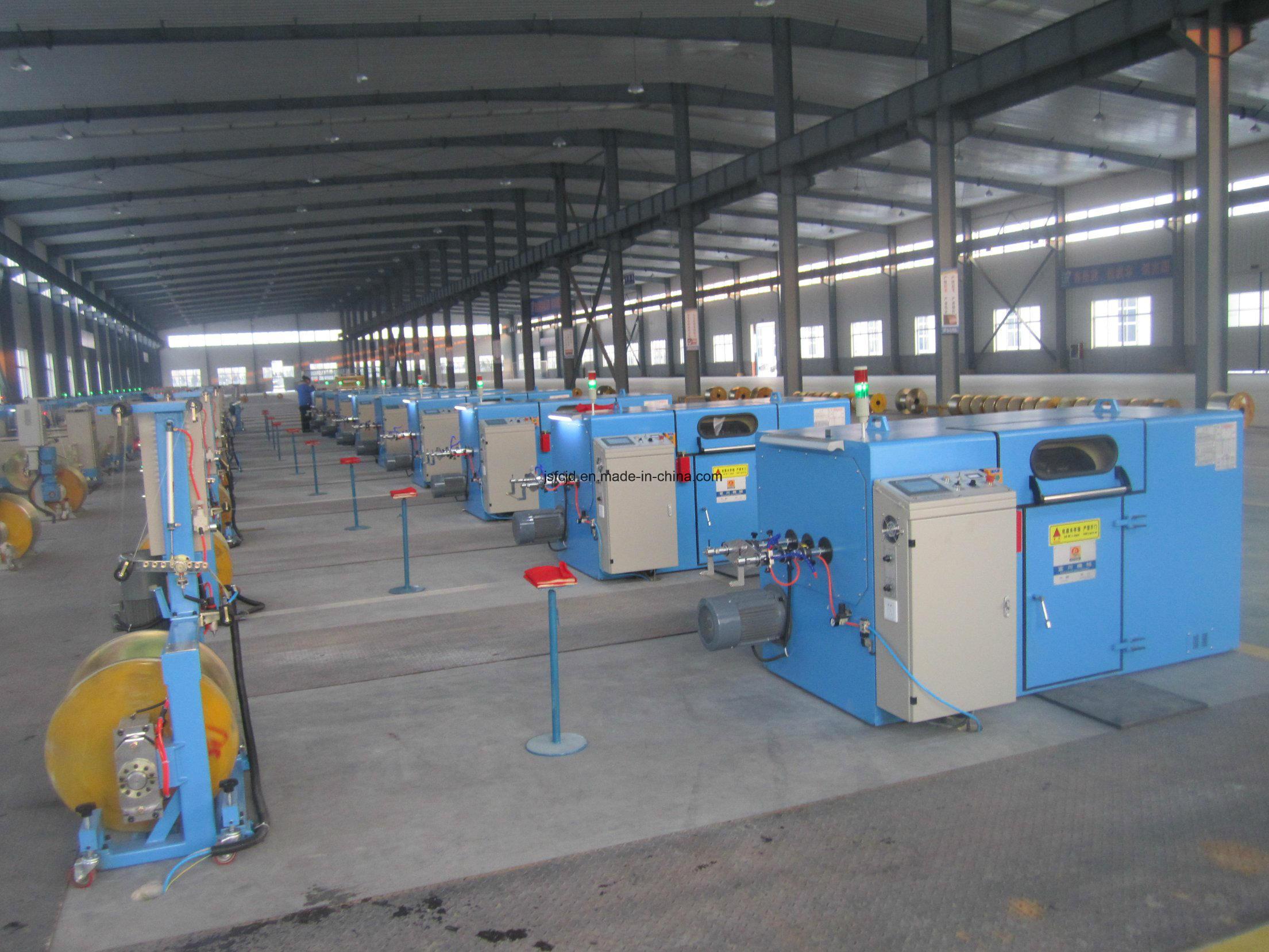 630bobbin Copper Wire, Electrical Wire Twisting Machinery (FC-650C)
