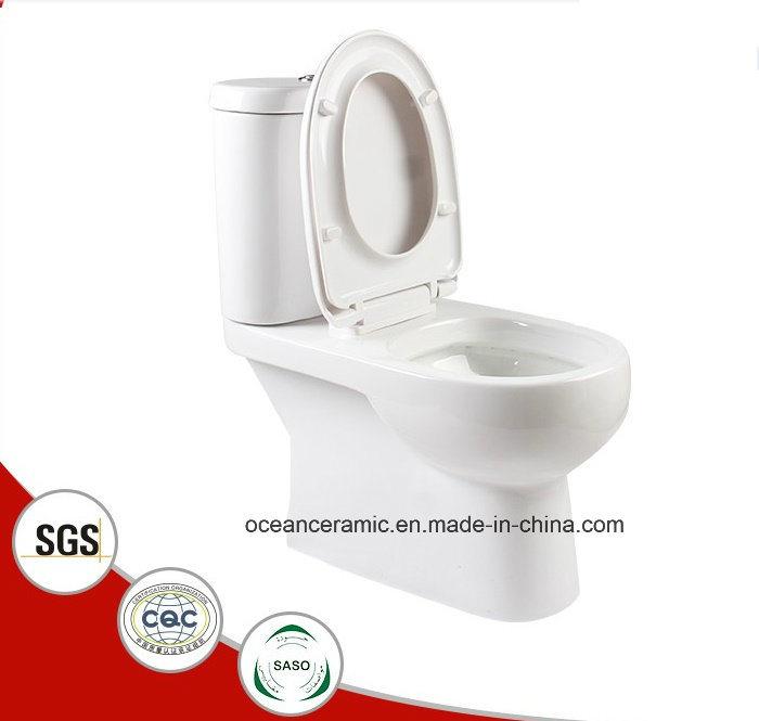 868 Hot Sale Ceramic Washdown Two-Piece Toilet