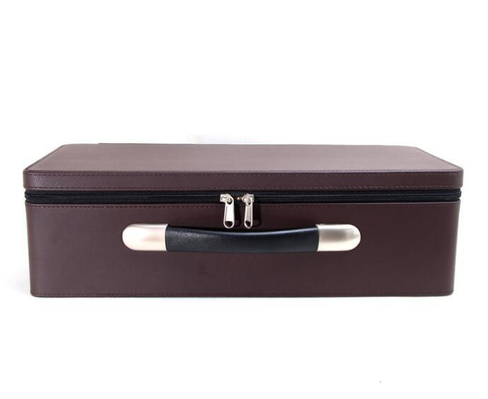 High End Leather Jewelry Box for Storage and Display