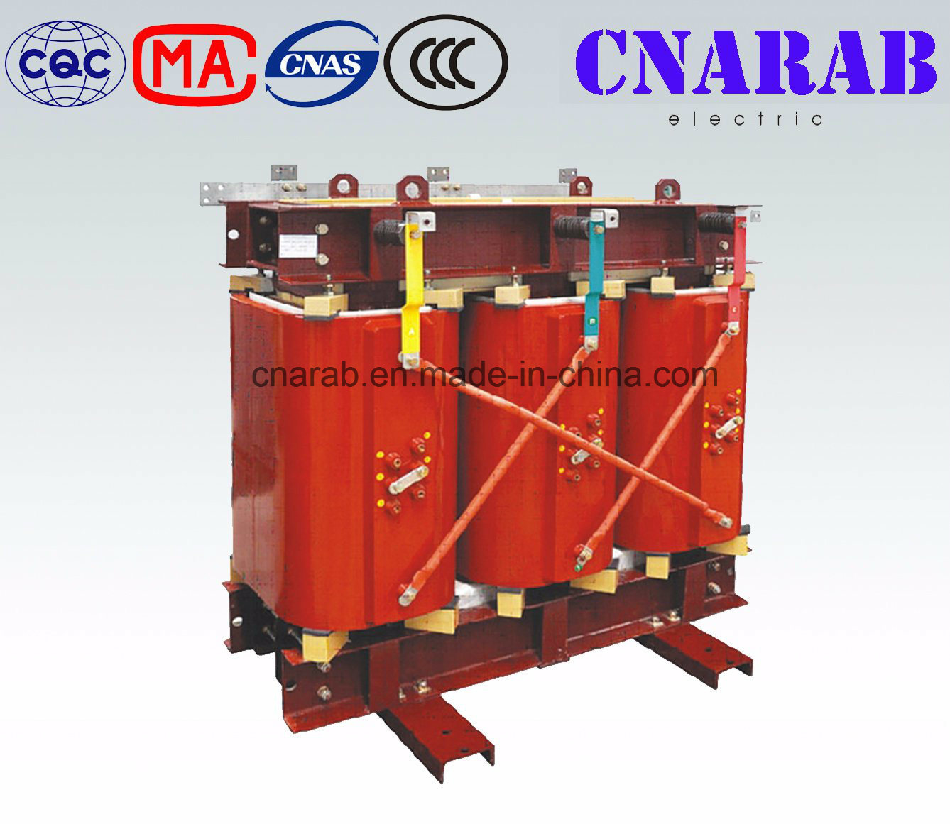 Three Column Amorphous Alloy Dry-Type Transformer - Sc (B) H15