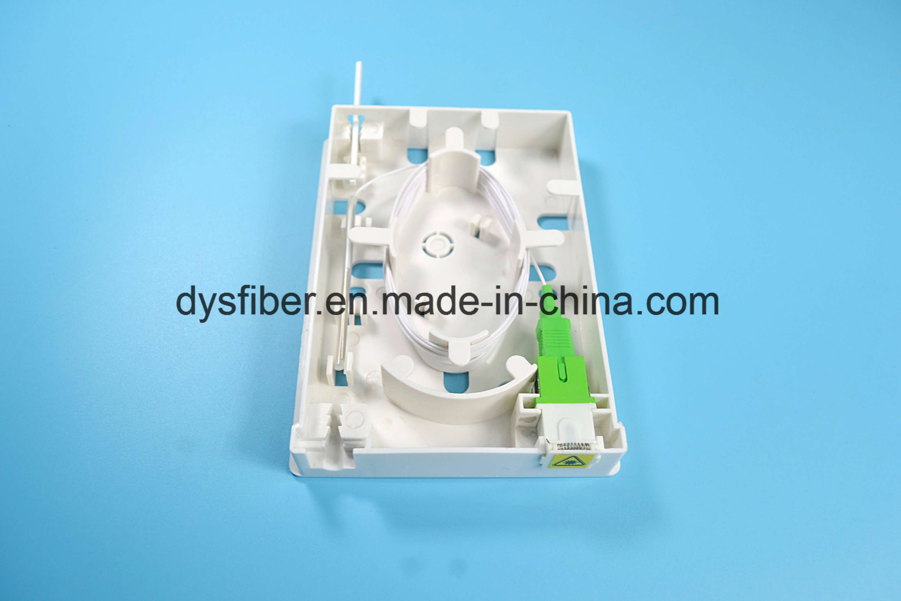 Good Sealing Performance 2 Port FTTH Mini Fiber Optic Terminal Box