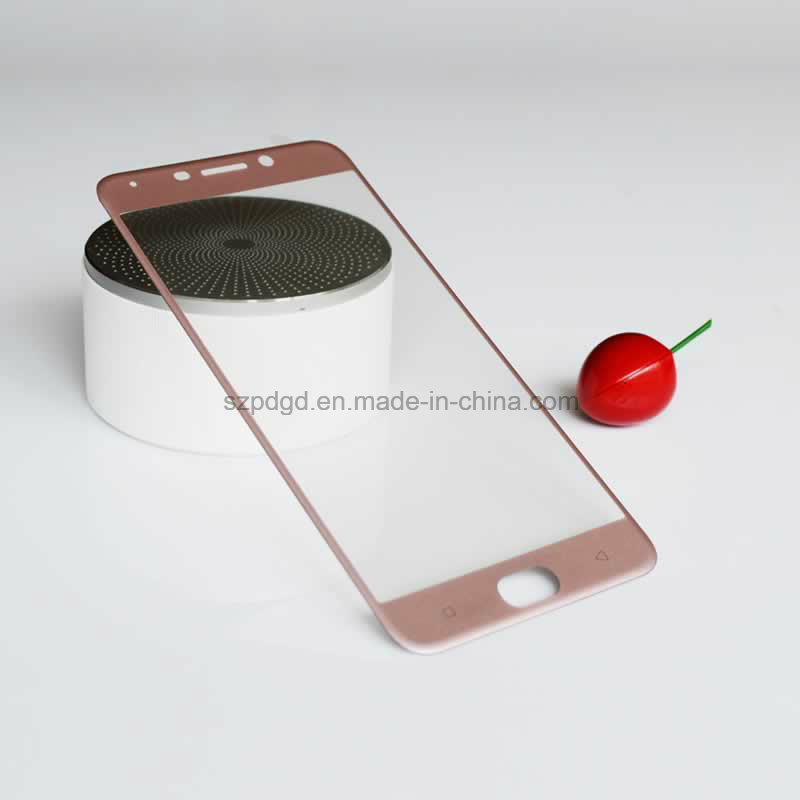 Power Factory 3D 9h Curved Edge Tempered Glass Screen Protector Film for Oppo R9 Film Guard
