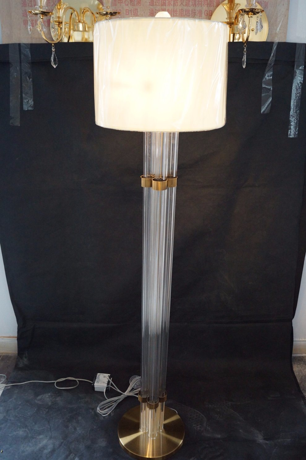 Crystal Modern Design Home Decorative Floor Lamps (KAF6110)