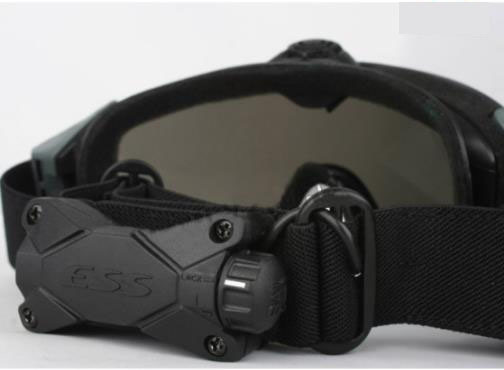 Airsoft Tactical Ess Fan Anti-Fog Glasses Military Safety Goggles