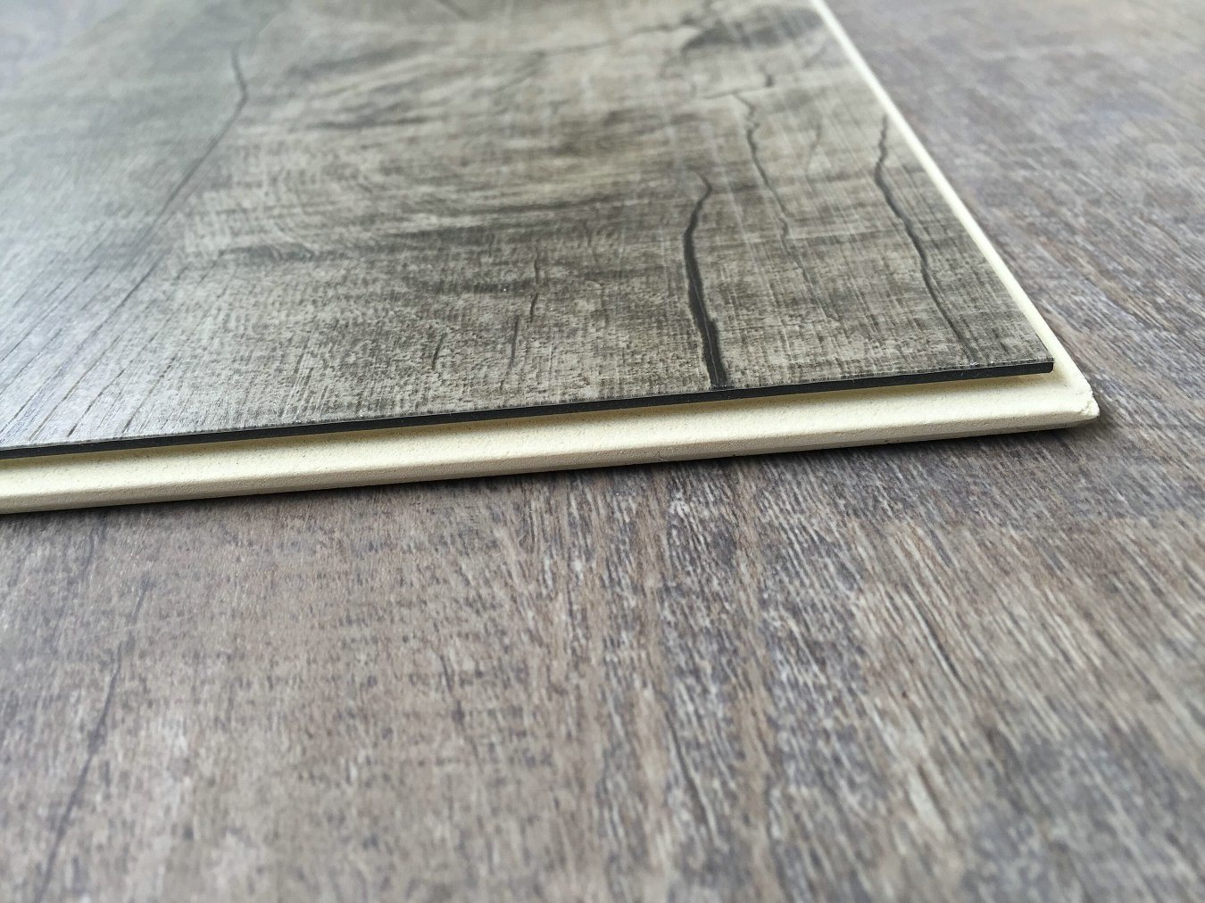 Highly Waterproof WPC Vinyl Flooring Planks